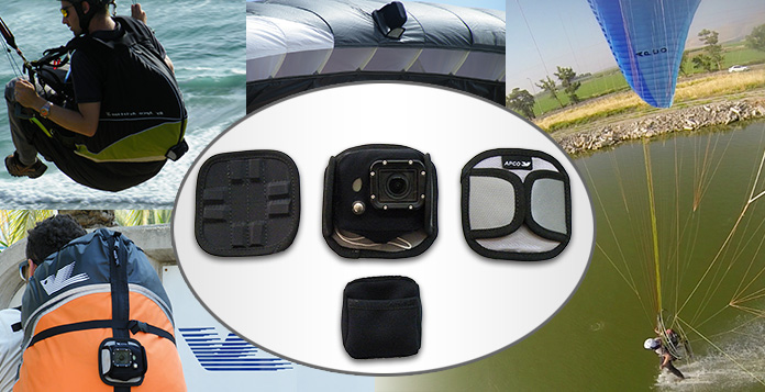 APCO GoPro Magnetic paraglider wing mount- AWESOME! - Click Image to Close