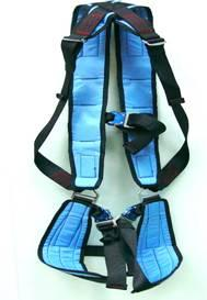 Paragliding Kiting harness WITH carabiners