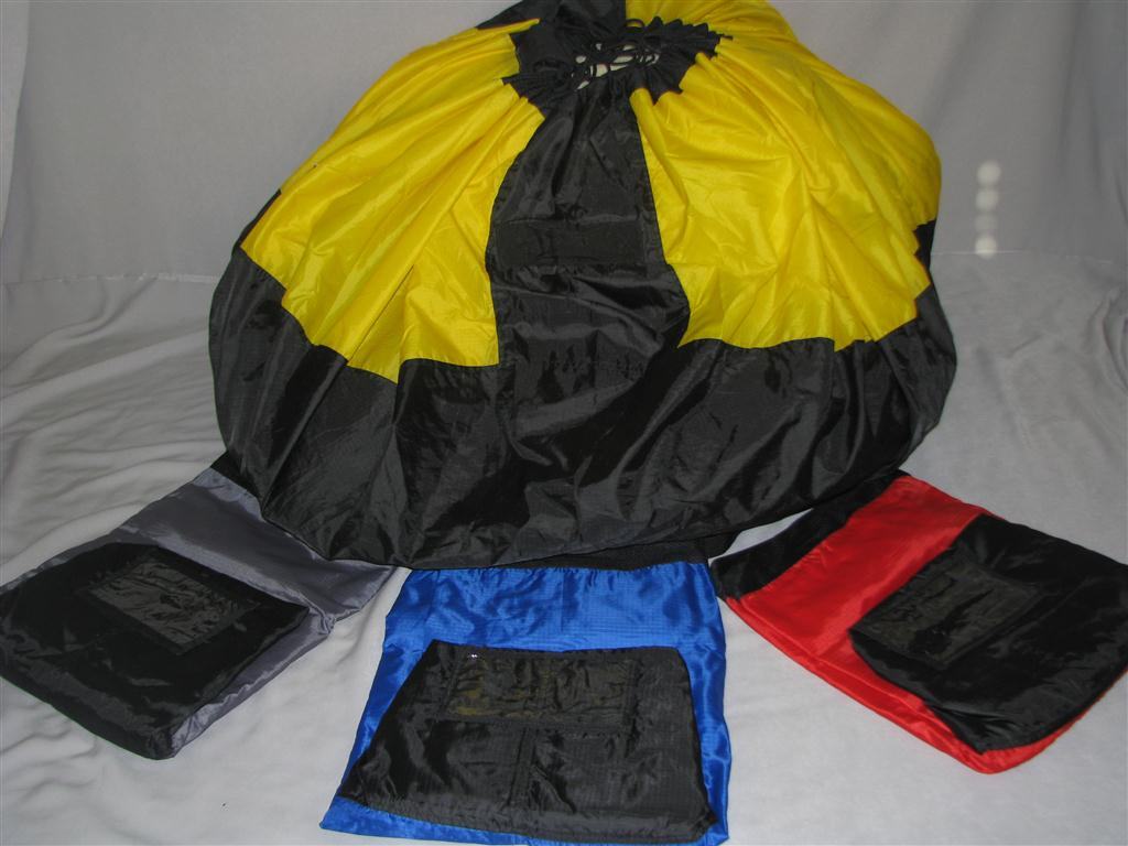 Paraglider / Parachute Heavy duty fast stuff sack PPG PG PPC