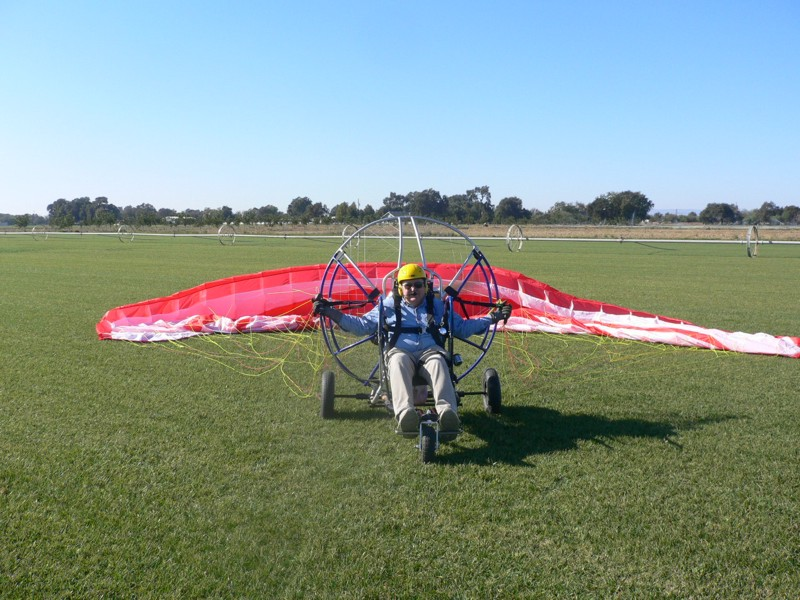 Individual lessons for Paramotor instruction