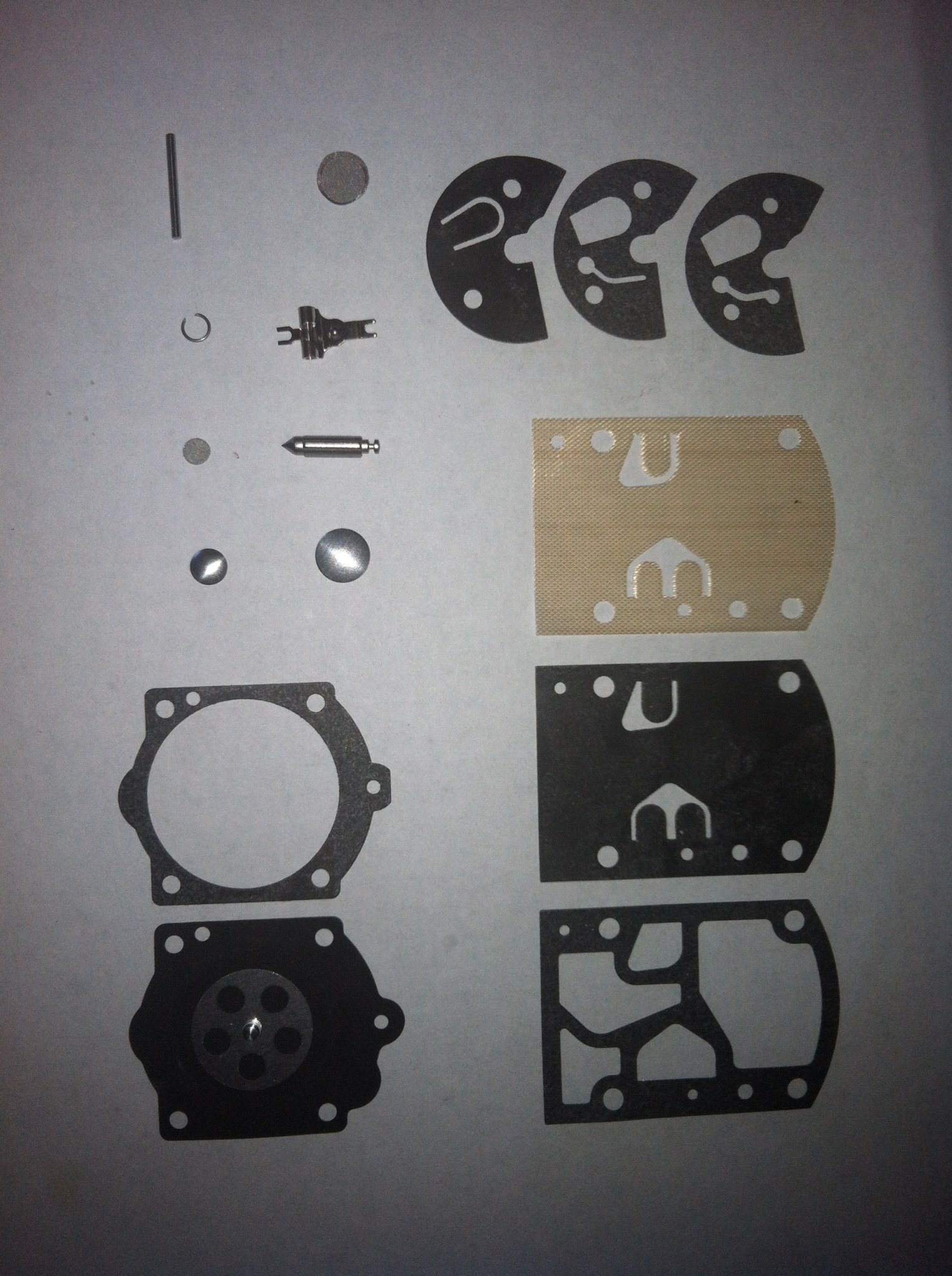 Walbro WB-37c Carburetor rebuild kit #10