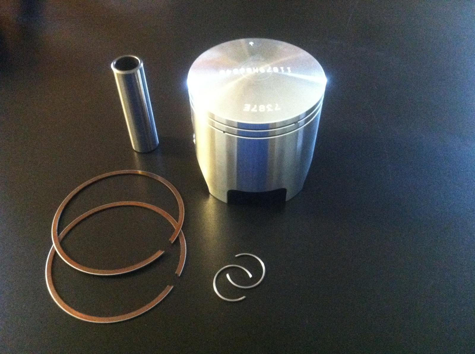 Complete Piston and rings set Simonini mini 2