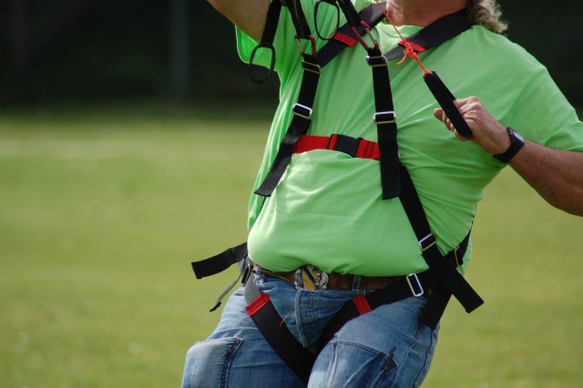 Paragliding Kiting harness Compact version