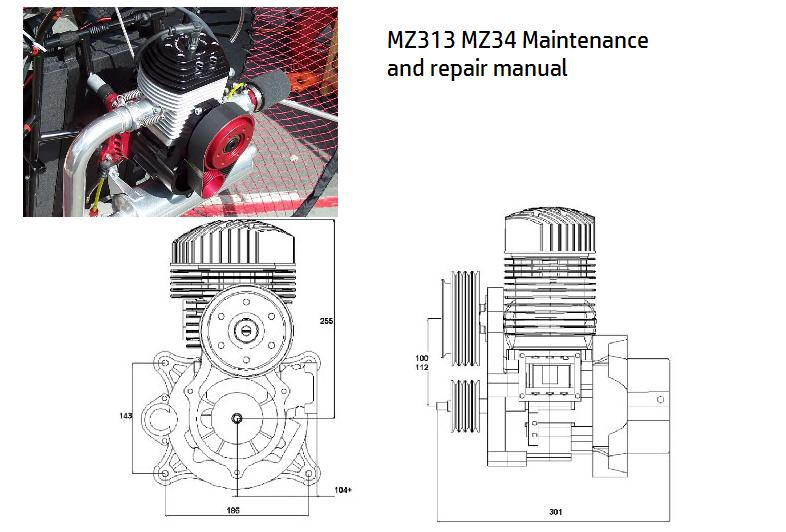 MZ34 MZ313 maintenance manual