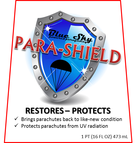 Para-Shield Paraglider Conditioner - Click Image to Close