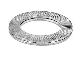Self-locking stainless steel washers MZ34 for exhaust bolts