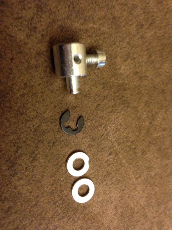 Throttle swivel for Tillotson HR